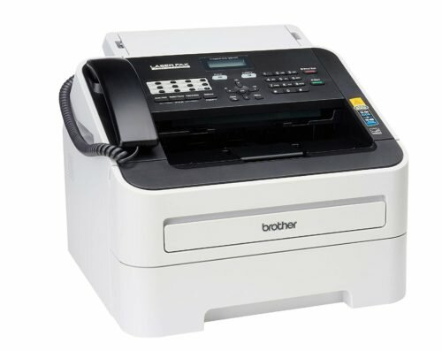 1.Brother FAX-2840 High Speed Mono Laser Fax Machine