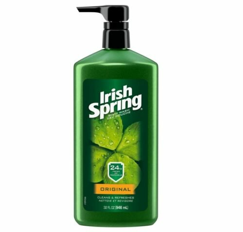 6.Irish Spring Body Wash, Original, 32 Fl Oz (Pack of 1)