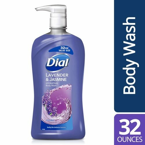 7.Dial Body Wash, Lavender & Jasmine, 32 Fl Oz