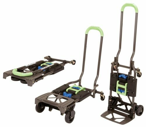 Cosco Shifter 300-Pound Capacity Multi-Position Heavy Duty Folding Hand Truck-Hand Trucks