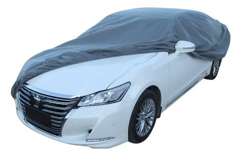 Leader Accessories Car Cover UV Protection Basic Guard 3 Layer Breathable Dust Proof Universal Fit