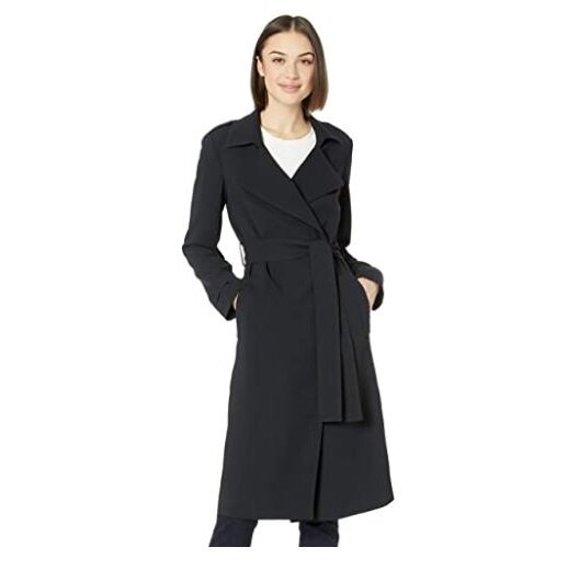 15.Amazon Brand - Lark & Ro Women's Lightweight Trench Coa