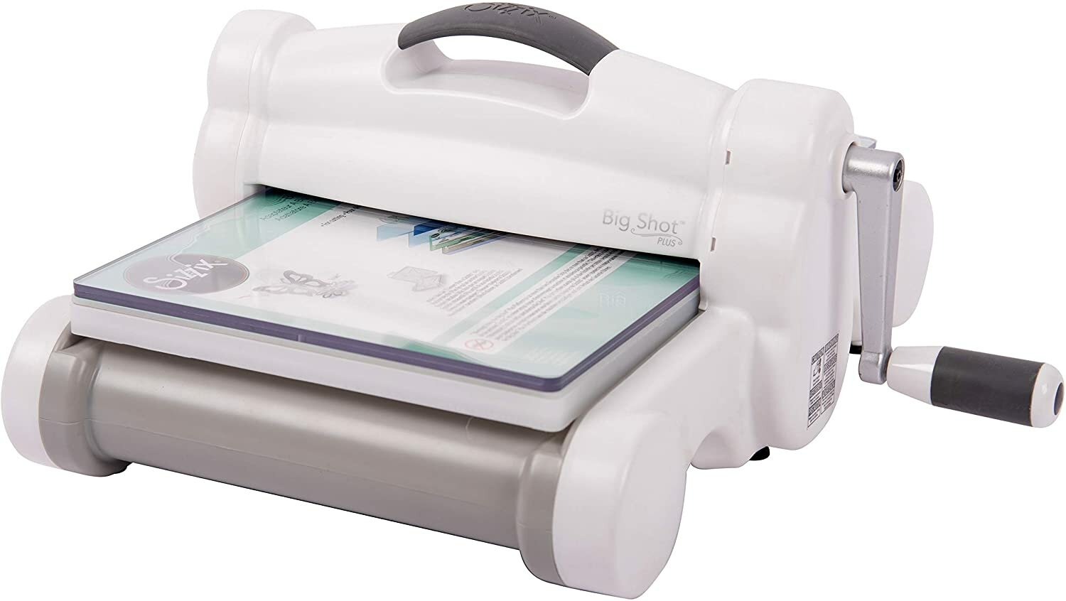 Sizzix 660340 Manual Die Cutting and Embossing, 9 in (21 cm) Opening, Big Shot Plus Machine Only